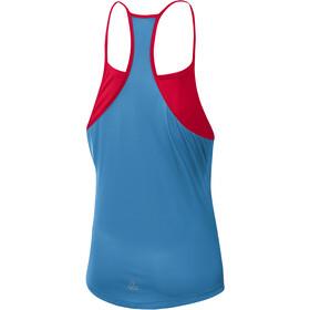 Löffler Loose Racerback Top Mujer, rojo/azul